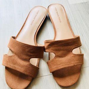 Who what wear. Hermès look alike sandals.